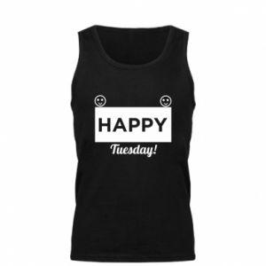 Męska koszulka Happy Tuesday