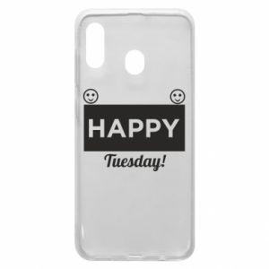 Etui na Samsung A20 Happy Tuesday