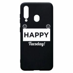 Etui na Samsung A60 Happy Tuesday