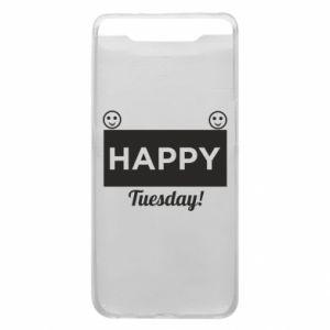 Etui na Samsung A80 Happy Tuesday