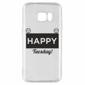 Etui na Samsung S7 Happy Tuesday