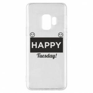 Etui na Samsung S9 Happy Tuesday