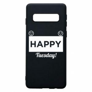 Etui na Samsung S10 Happy Tuesday