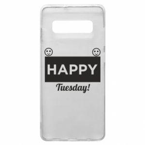 Etui na Samsung S10+ Happy Tuesday