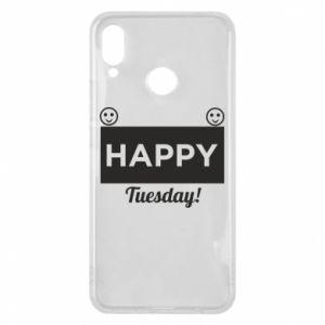 Etui na Huawei P Smart Plus Happy Tuesday