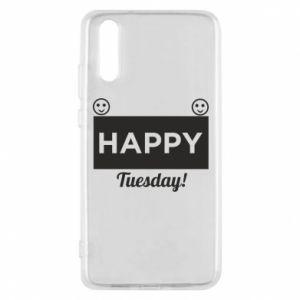 Etui na Huawei P20 Happy Tuesday