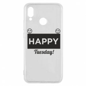 Etui na Huawei P20 Lite Happy Tuesday