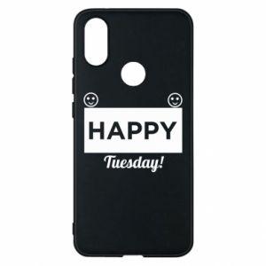 Etui na Xiaomi Mi A2 Happy Tuesday