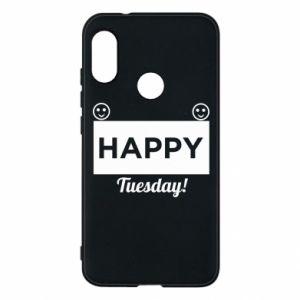 Etui na Mi A2 Lite Happy Tuesday