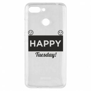 Etui na Xiaomi Redmi 6 Happy Tuesday