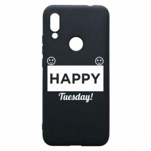 Etui na Xiaomi Redmi 7 Happy Tuesday