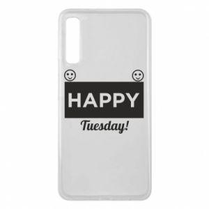 Etui na Samsung A7 2018 Happy Tuesday