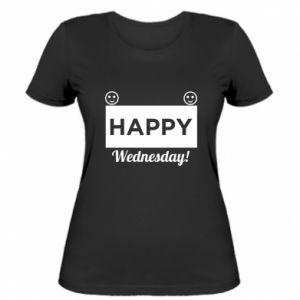 Damska koszulka Happy Wednesday