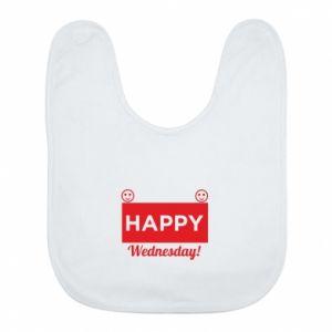 Śliniak Happy Wednesday