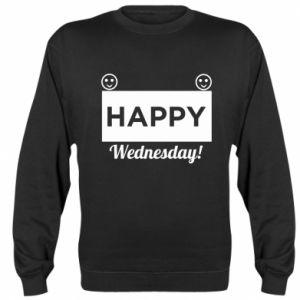 Bluza (raglan) Happy Wednesday