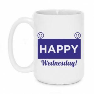 Kubek 450ml Happy Wednesday