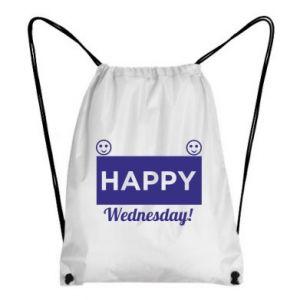 Plecak-worek Happy Wednesday