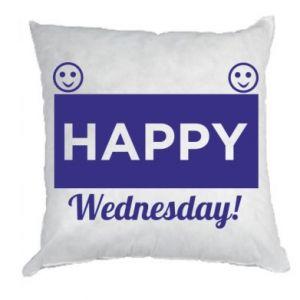 Poduszka Happy Wednesday