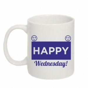 Kubek 330ml Happy Wednesday