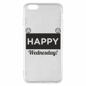 Etui na iPhone 6 Plus/6S Plus Happy Wednesday