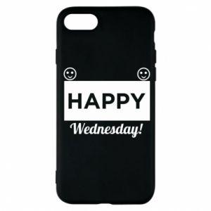 Etui na iPhone 7 Happy Wednesday