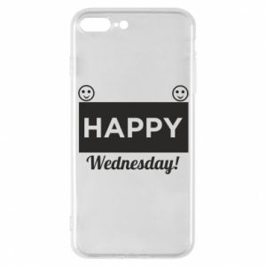 Etui na iPhone 7 Plus Happy Wednesday