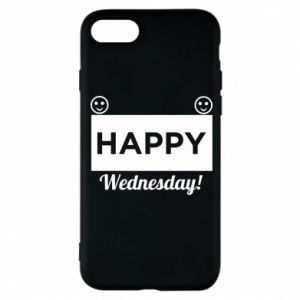 Etui na iPhone 8 Happy Wednesday