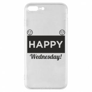 Etui na iPhone 8 Plus Happy Wednesday