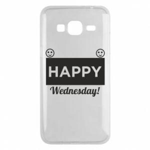 Etui na Samsung J3 2016 Happy Wednesday