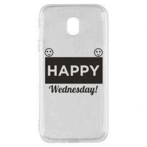 Etui na Samsung J3 2017 Happy Wednesday
