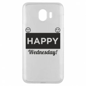 Etui na Samsung J4 Happy Wednesday