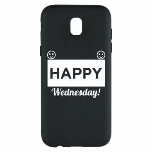 Etui na Samsung J5 2017 Happy Wednesday