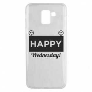 Etui na Samsung J6 Happy Wednesday
