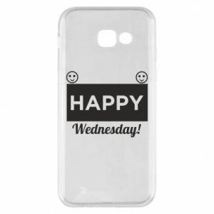 Etui na Samsung A5 2017 Happy Wednesday