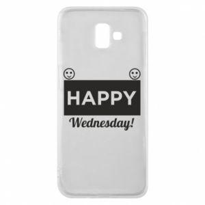 Etui na Samsung J6 Plus 2018 Happy Wednesday