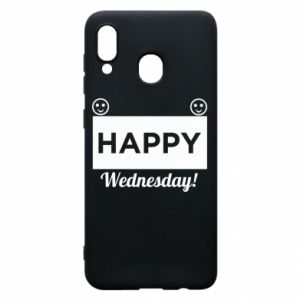 Etui na Samsung A30 Happy Wednesday