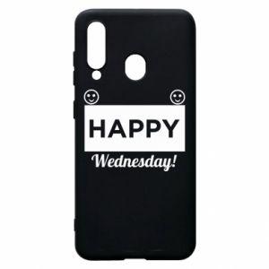 Etui na Samsung A60 Happy Wednesday