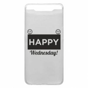 Etui na Samsung A80 Happy Wednesday