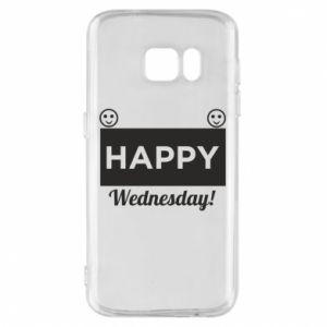 Etui na Samsung S7 Happy Wednesday