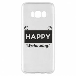 Etui na Samsung S8 Happy Wednesday