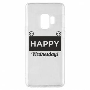 Etui na Samsung S9 Happy Wednesday