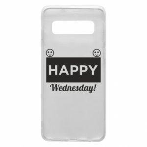 Etui na Samsung S10 Happy Wednesday