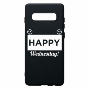 Etui na Samsung S10+ Happy Wednesday