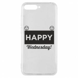 Etui na Huawei Y6 2018 Happy Wednesday
