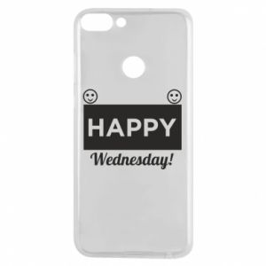 Etui na Huawei P Smart Happy Wednesday