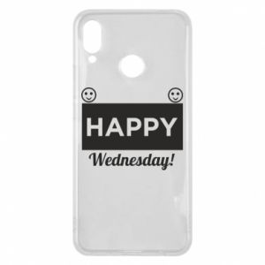 Etui na Huawei P Smart Plus Happy Wednesday