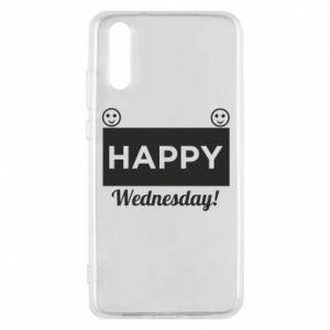Etui na Huawei P20 Happy Wednesday