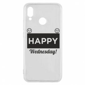 Etui na Huawei P20 Lite Happy Wednesday