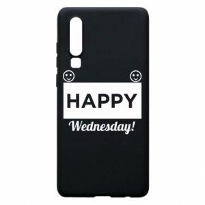 Etui na Huawei P30 Happy Wednesday