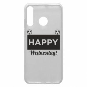 Etui na Huawei P30 Lite Happy Wednesday